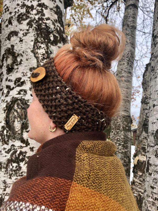 Original knitted adult headband